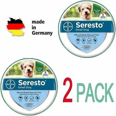 Bayer Animal Collar Seresto Flea Tick Collar For Small Dog,Free Ship,2 Pack