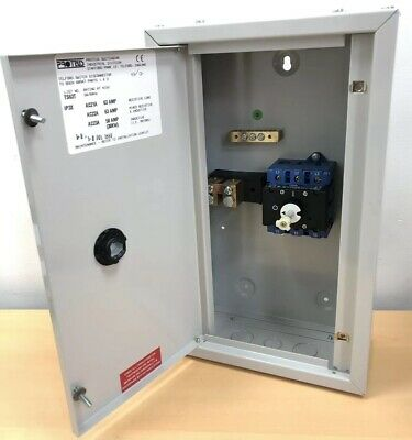 New Proteus 63Amp TPN Rotary Switch Disconnector TP&N ON/OFF Isolator