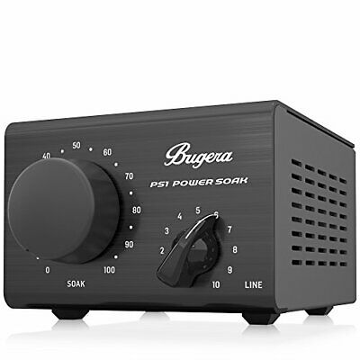 Bugera PS1 Power Soak - Passive 100W Power Attenuator and DI Box