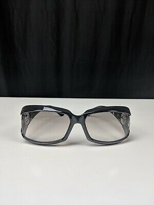 Gucci GG 2599/S Havana Black Sunglasses Silver Logo With Case/Cloth