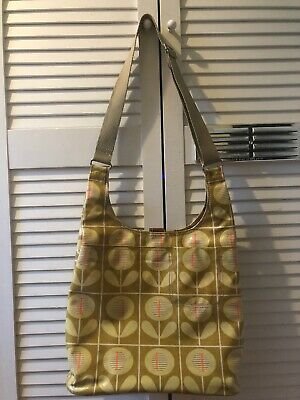 Orla Kiely Oval Flower Print Cross Body Bag *please See photos * Summer Pram Bag