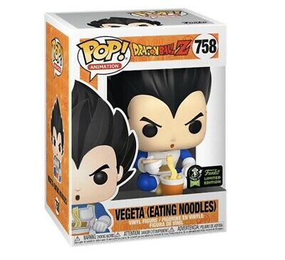 Funko Pop Vegeta (Eating Noodles) ECCC Shared Exclusive Preorder