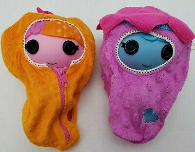Lalaloopsy Fairy Fern & Fairy Tulip Butterfly Dolls w/ Zip Cocoons Free Shipping