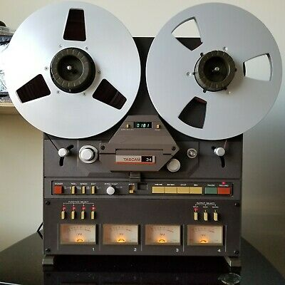 TASCAM 34 Reel To Reel Tape Recorder/4 Channel Recorder/Reproducer/73W.