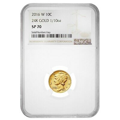 COA  OGP ***NO COIN*** 2016 $5 GOLD MERCURY DIME CENTENNIAL WOOD BOX