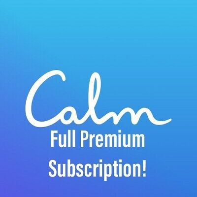 Calm Meditation App 11 Month Subscription Mindfulness App iPhone Android