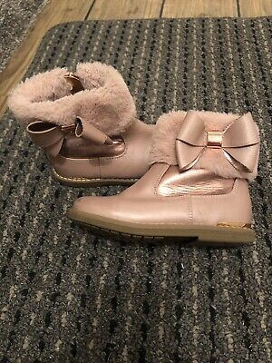 Ted Baker Girls Boots Size 9