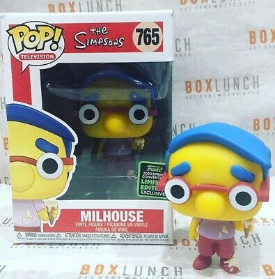 The Simpsons Milhouse Pop! ECCC Shared Excl. Pre-Order