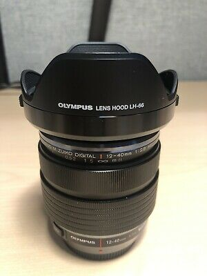 Olympus M.Zuiko Digital Pro 12-40mm f/2.8 AF ED Zoom Lens for Micro 4/3