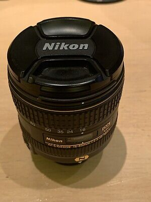 Nikon Nikkor AF-S 16-80mm f2.8-4E ED DX VR N Lens - Used For Only 12,500 Shots