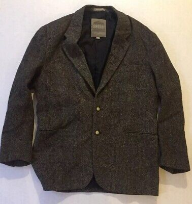 Men's STRUCTURE LE COLLEZIONI WOOL TWEED SPORT COAT Size M  Made in Italy