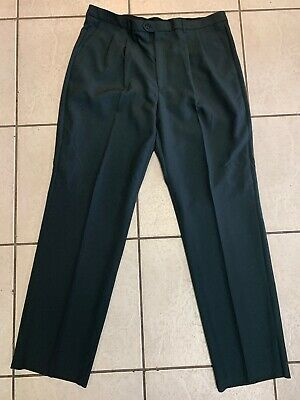 Lucci Collezione Men's Size 43R Pleated Gray Dress Pants New  NWT