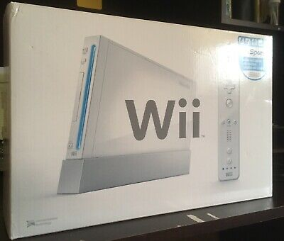 Nintendo Wii Console In Box. Complete With Inserts. Excellent Condition.