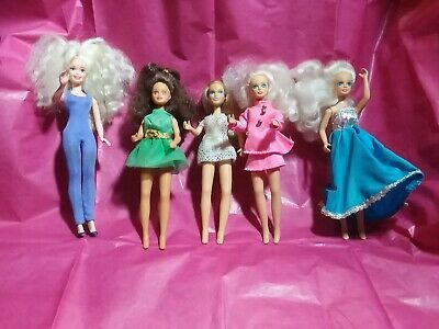 """Starr Modeling Doll Lot of 4 JPI and one clone - Vintage 6½"""" dolls"""
