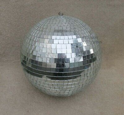 Vintage Old Disco Mirror Ball From Car Palace Night Club Somerset Massachusetts