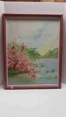 Original oil-on-canvas painting by Jodi Simmonds Ontario, Canada 1985