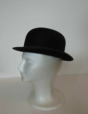 Vintage Hat - Bowler or Derby Hat by Christys of London
