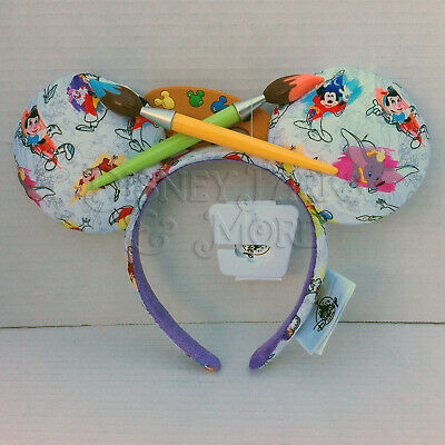 Disney Parks Ink & Paint Characters Collection Minnie Mouse Ears Headband