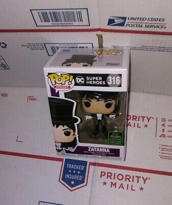 Funko Pop Dc Super Heroes: Zatanna #316. Eccc 2020 Shared Exclusive. Presale.