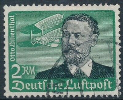 [2192] Germany 1934 good Airmail Stamp very fine Used Value $30