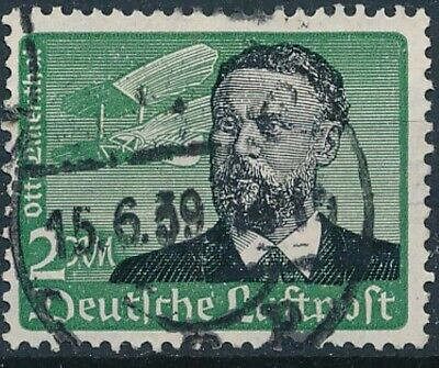 [2193] Germany 1934 good Airmail Stamp very fine Used Value $30
