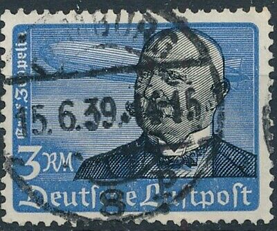 [2197] Germany 1934 good Airmail Stamp very fine Used Value $65