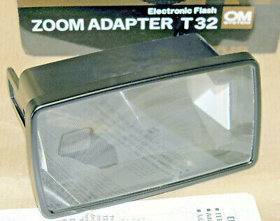 OLYMPUS OM-SYSTEM Electronic Flash Zoom Adapter T32 - NEW