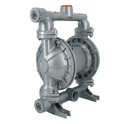 Air-Operated Double Diaphragm Pump Durable Industrial Fluid Water 44GPM 115psi