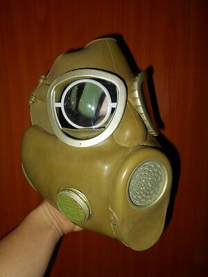 Polish Army Prescription Optical Inserts To Gas Mask Fits Mp4 Czech M10 Us M17