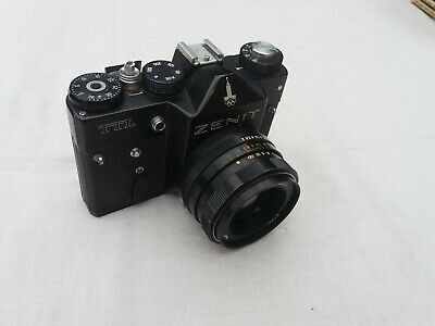 Collectible ZENIT TTL Camera 1980 Moscow Olympic Edition