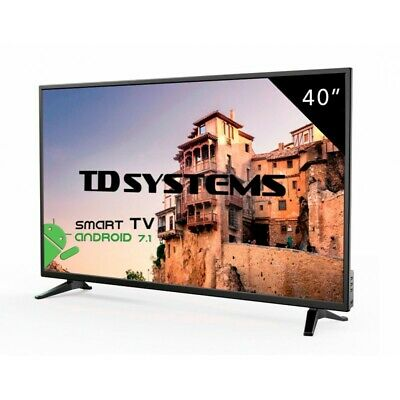 "TV 40"" Led Full HD Smart TD Systems K40DLM8FS"
