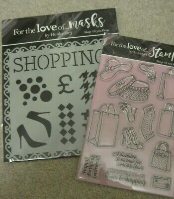 Hunkydory Stamping Ink Me with Mirri Matts Die Cut Squares Sheets in White Gold /& Silver MCDM108
