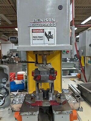 2 Ton Hydraulic Denison Bench Press Multipress Model A Series 6/19/69 Moose #A10