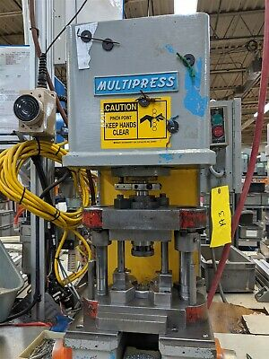 2 Ton Hydraulic Denison Bench Press Multipress WUPA-2TR Moose #A3