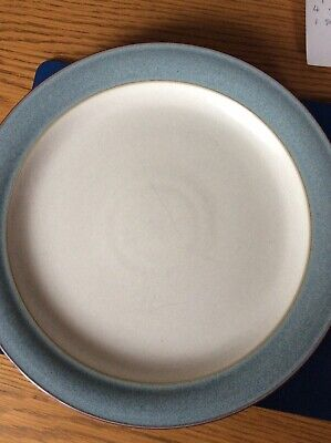 Denby Blue Jetty Dinner Plate 27cm Stamped