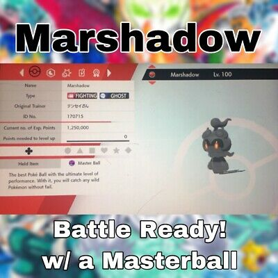 6IV Marshadow - Pokemon Sword and Shield [Pokemon Home] Fast Delivery
