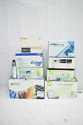Job Lot 9x Various Opened & Unopened Ink Cartridges Toners Brother Canon