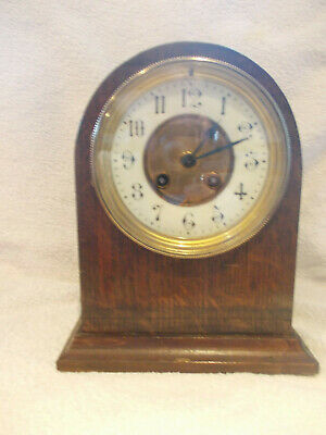 Mantel Clock, Working  But Sold As Spares Or Repairs, See Description