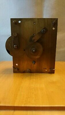 Antique fusee clock movement