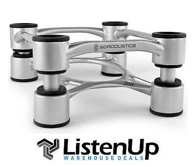 IsoAcoustics Aperta 200 Isolation stands for bookshelf, floor and other speakers