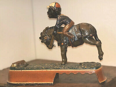 "1880's Original ""Always Did Spise a Mule""- Cast Iron Mechanical Bank NO RESERVE!"