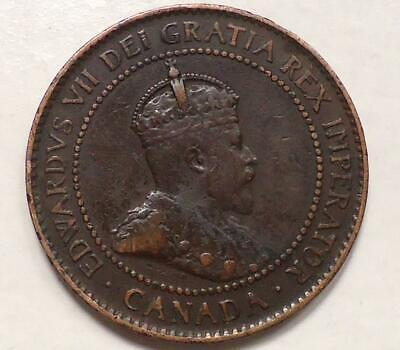 1904 Canada Large Cent See Pics 0.99 Cents Auction & Free Shipping