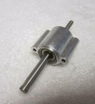 """Bearing Housing With Mount-1/4"""" & 5/16"""" Shaft For Mounting Pulleys Or Gears"""
