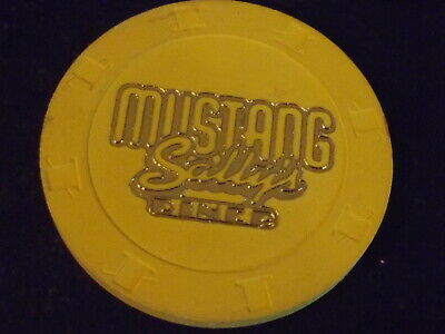 MUSTANG SALLY'S DINER FREE BEVERAGE OR COFFEE casino gaming poker chip
