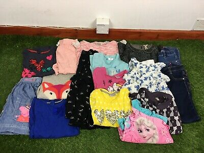 Girls Age 6-7 Years Clothes Bundle Mainly Next 16 Items B212