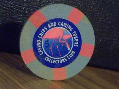 CASINO CHIPS AND GAMING TOKENS COLLECTORS CLUB casino gaming poker chip