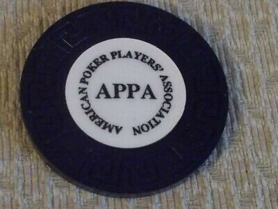 AMERICAN POKER PLAYERS ASSOCIATION (APPA) casino gaming poker chip