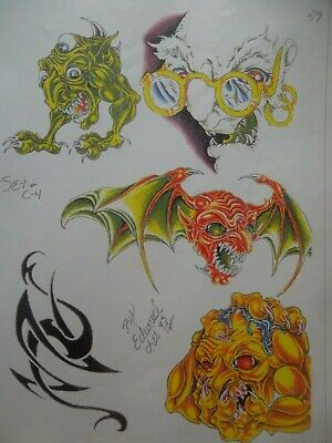 Edward Lee Flash Tattoo Flash All themes 38 pages