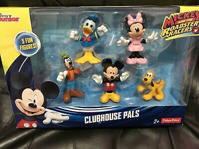 Disney Junior Mickey Mouse Clubhouse Fisher Price Figures Pilot Mickey