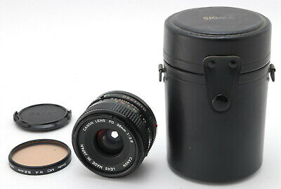 Near Mint CANON NEW FD 35mm F/2.8 MF Manual Focus Wide Angle Lens NFD from Japan